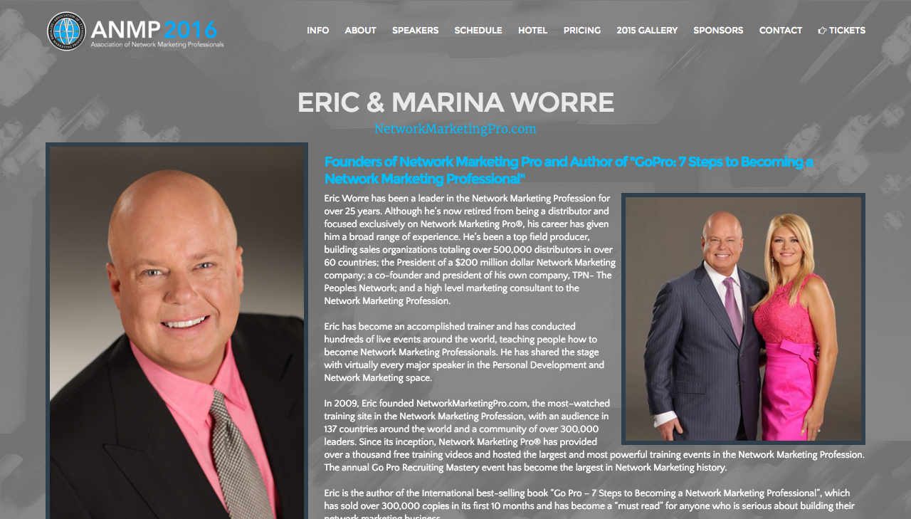 Molto ANMP 2016 | Eric & Marina Worre QP77